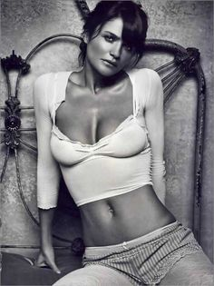 Helena Christensen was the first supermodel I was aware of growing up. Girl crush!
