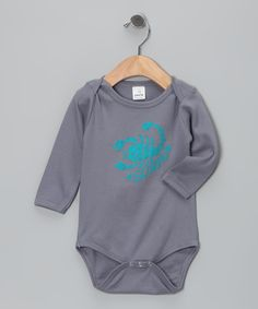 Plump Baby Wear Teal & Slate Scorpio Bodysuit, that is if Jake comes after Oct. 24th!