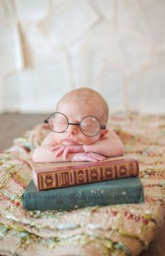 Harry Potter baby photography