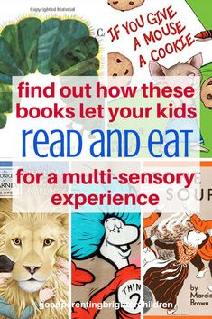 Here are 11 children's books that teach lessons using food and fun activities. Different sensory experiences commit the lessons to memory Science Activities For Kids, Science Books, Books For Boys, Childrens Books, Parenting Books, Parenting Classes, Parenting Tips, Fairy Tales For Kids, Children's Literature