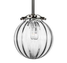 "$540, 7"" Providing Quality Cristallo glass lighting,Hand-Blown in Murano,Italy by CX DESIGN"