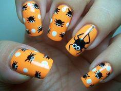 5 Halloween nail art