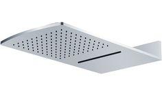 NIAGARA di Alexander Design. Soffione doccia 2 getti: doccia e cascata.