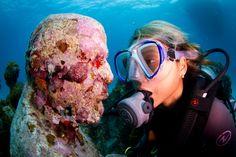 Underwater Museum Cancun Mexico
