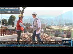 Supervisión reconstrucción Secundaria Diurna 166 Alfonso Reyes NP25TV 2017