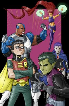 Teen Titans by Joe Eisma