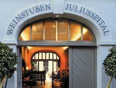 Würzburg, Weinstuben Juliusspital