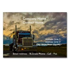 Real estate photographer double sided standard business cards pack truck stop sky card template large business cards pack of reheart Images