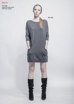 sweatshirt-dress wo-119