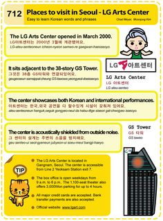712 Places to visit in Seoul - LG Arts Center