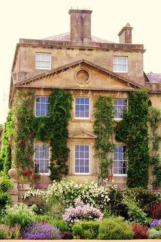 Pretty house and exterior landscaping