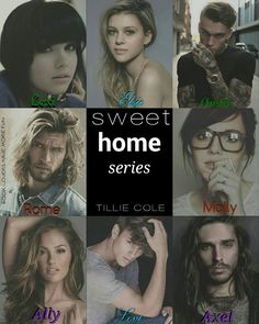 Sweet Home Series by Tillie Cole #RomeoAndMolly #carilloboys #LexiAndAustin #AllyAndAxel #LeviAndElsie ♥