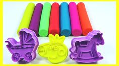 Learn Colors Play Doh Fun Surprises Rainbow Peppa Pig Toys Compilation N...