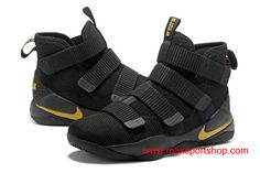 7d31fc390a7a Welcome to Buy your favorite 2017 Nike LeBron Soldier 11 Black Gold Yellow  Basketball Shoes