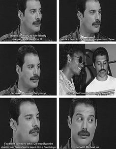 We Will Rock You UK Freddie Mercury on Michael Jackson Queen Freddie Mercury, Freddie Mercury Quotes, Tears In Heaven, Queen Band, George Harrison, Eric Clapton, Fender Stratocaster, Queen Songs, Funny Videos