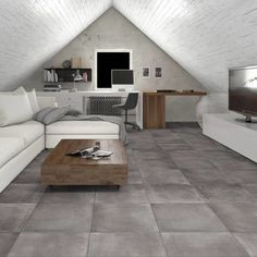 Choose these stylish grey anti slip floor tiles, perfect as floor tiles for kitchens and bathrooms where non slip tiles are desired. See a great tile choice of gloss, matt and anti slip floor tiles from Direct Tile Warehouse all at the lowest prices. Grey Kitchen Tiles, Grey Bathroom Tiles, Grey Bathrooms, Bathroom Flooring, Non Slip Floor Tiles, Large Floor Tiles, Grey Floor Tiles, Outdoor Flooring, Grey Flooring