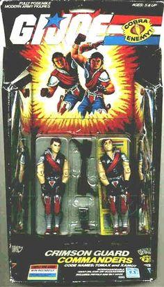 Tomax & Xamot G.I. Joe Action Figures