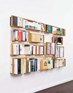 bibliothèque home | decoration | idea