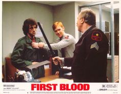 Rambo: First Blood 11x14 Movie Poster (1982)