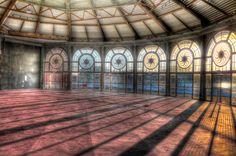 Abandoned Carousel House HDR by lennyd120, via Flickr. Asbury Park Casino, Asbury Park,NJ.
