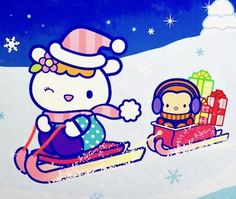 Hello Kitty Images, Twin Sisters, New Friends, Sanrio, Beer, Snoopy, Christmas, Fictional Characters, Art