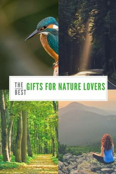 Need ideas for an outdoor lover? Some who loves to hike? We have the best gifts for nature lovers. Nature gifts for her and gift ideas for wildlife enthusiasts.