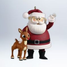 2012 RUDOLPH - WONT YOU GUIDE MY SLEIGH HALLMARK ORNAMENTS