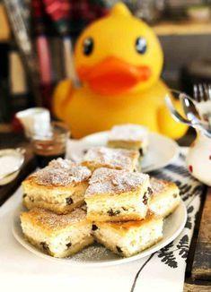 A legszaftosabb túrós pite | Street Kitchen Creative Cakes, Cake Cookies, Tart, Cake Recipes, Pancakes, French Toast, Good Food, Food And Drink, Pie
