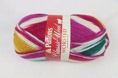 100g Patons Classic Wool Yarn Worsted Wool Color Magnolia $9 MSRP  #knitting #crochet #felting #wool #yarn