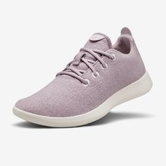 Men's Wool Runners - Savanna Dawn (Light Purple) | Allbirds Runners Shoes, Wool Runners, Wool Sneakers, Most Comfortable Shoes, Travel Shoes, Walk On, Athletic Shoes, Dawn, Recycled Materials