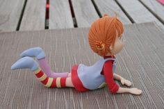 Pippi Longstocking - love the pose and the colours but the legs need little bit more shape - great inspiration :)