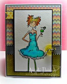 5 o'clock somewhere, right? by jellybean74 - Cards and Paper Crafts at Splitcoaststampers