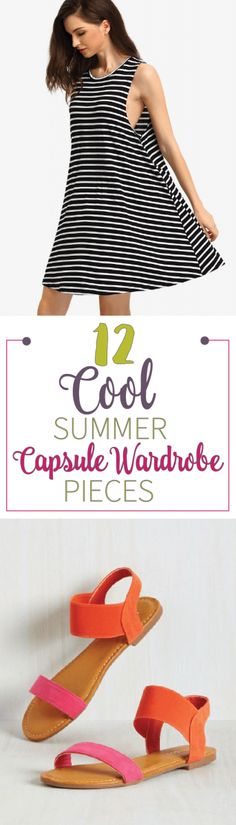 Spring / Summer Capsule Wardrobe Pieces - Pieces you absolutely need to incorporate into your Spring and/or Summer Capsule Wardrobe. It can be tricky but no worries, I did the work for you!