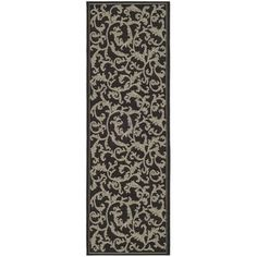 Safavieh Indoor/ Outdoor Courtyard Black/ Sand Rug (2'7 x 8'2) Write a review Sale CAD 72.18