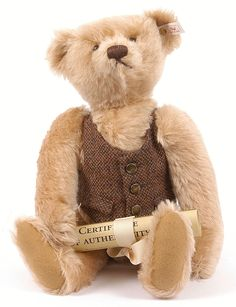 Steiff Ean 654411 Very Rare 1996 Limited Edition British Collectors Bear