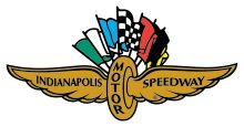 The IMS wing and wheel logo has been used since 1909. This variation was used from the 1970s through 2008.