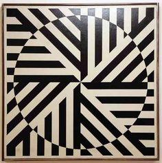 Rakuko Naioto, Japon 1935, Untitled,1964, 81 x 81 cm