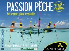 "Salon ""Passion Pêche"", Bourg-en-Bresse, Rhône-Alpes"