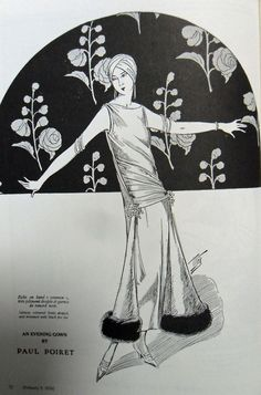 Paul Poiret - always fabulous  1924 I NEED a turban!