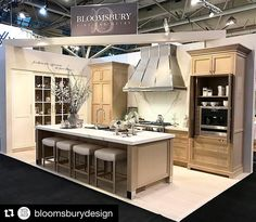 #Repost @bloomsburydesign  Don't forget to stop by the Bloomsbury booth #2216 to see NEOLITH Estatuario E05 display at the National Home Show