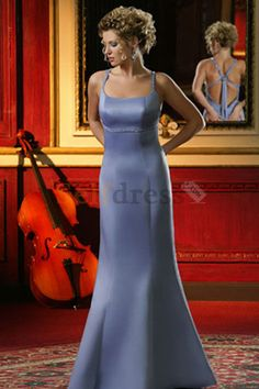 Chic & Modern Misses Beading Fall Floor Length Bridesmaid Dress