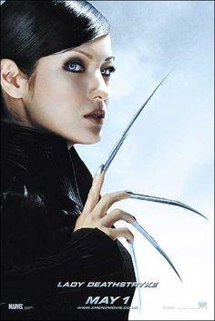 Kelly Hu as Yuriko Oyama / Lady Deathstrike in X-Men United Marvel Comic Books, Marvel X, Comic Book Characters, Comic Book Heroes, Marvel Characters, Marvel Movies, Marvel Villains, Marvel Women, Marvel Girls