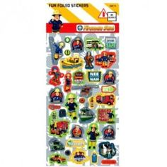 FIREMAN SAM - LARGE Fun Foiled Sticker Sheet Fireman Sam, Game Art, Arts And Crafts, Stickers, Games, Toys, Projects, Fun, Madness