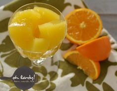 Probiotic Rich Orange Jello - Oh Lardy!  This stuff is awesome!!!