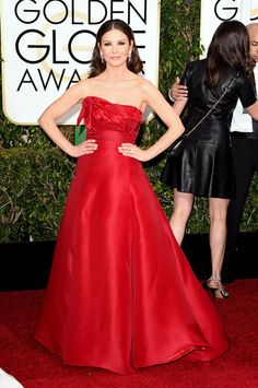 Catherine Zeta-Jones | All The Looks On The 2015 Golden Globes Red Carpet