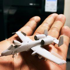 3D printer で作ったA10