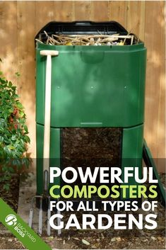 Composting is a great way to get rid of trash while nourishing your garden. Here are some composters that are sure to meet your composting needs. Organic Gardening, Gardening Tips, Composting Methods, Yard Waste, Home Landscaping, Landscape Plans, Buyers Guide, Growing Vegetables, Beautiful Gardens