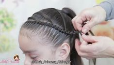 Elastics and lace braids into a ponytail Undercut Long Hair braids Elastics Lace ponytail Lil Girl Hairstyles, Braided Hairstyles, Toddler Hairstyles, School Hairstyles, Wedding Hairstyles, Short Hair For Kids, Girl Hair Dos, Winter Wedding Hair, Hair Due