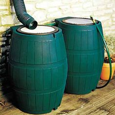 Catching and using rainwater can be as simple as a single plastic barrel with a gravity feed to a flower bed, or they can be sophisticated systems that supply all your water needs. We present many options. thisoldhouse.com