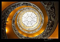 Vatican Spiral Up by Sean Molin Photography, via Flickr